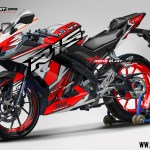 R15 NEW 2017- SLASH RED
