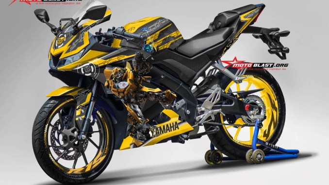 R15 NEW 2017- BLACK BUMBLE BEE