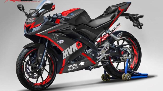 R15 NEW 2017- RED MVK 25-B