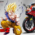 R15 NEW 2017- RED DRAGON BALL2
