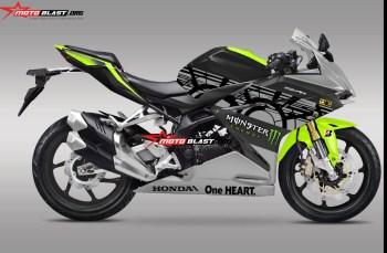 Modifikasi striping Honda CBR250RR sunmoon winter test