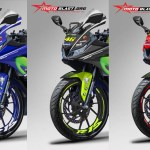 YAMAHA R15 movistar all varian basic warna pabrikan