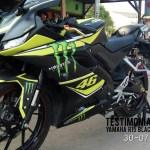 testimonial motoblast yamaha r15 black monster vr46-3