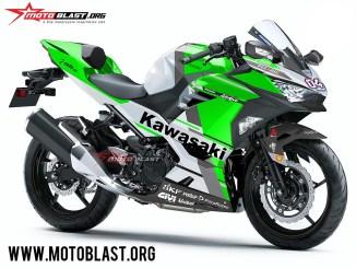 Kawasaki Ninja 250R 2018-DESMOSEDICI GP18-GREEN