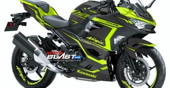 Kawasaki Ninja 250R 2018- GREENLIME CARBON