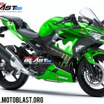 Kawasaki Ninja 250R 2018-MOVISTAR GP 2018GREEN