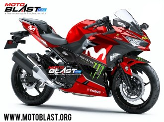 Kawasaki Ninja 250R 2018-MOVISTAR GP 2018RED
