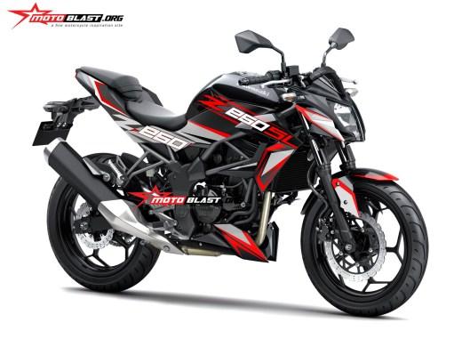 Z250SL BLACK SPORTY-RED