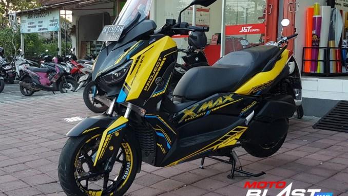 Modifikasi-YAMAHA XMAX 250 VR46-1