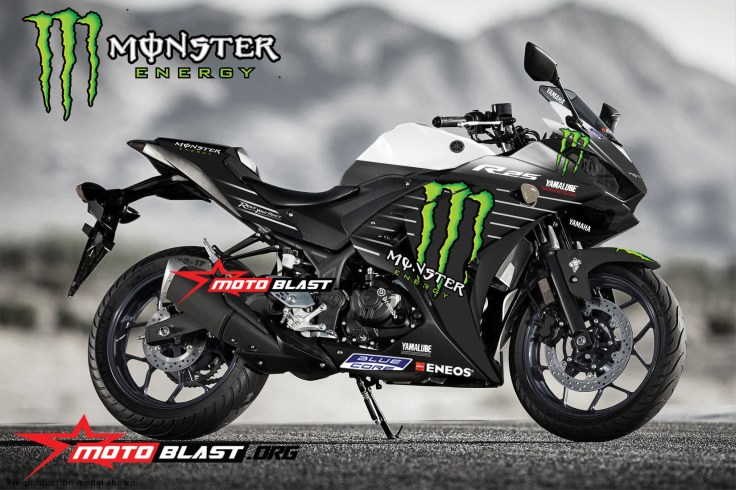 Yamaha-YZF-R25-MONSTER ENERGY MOTOGP 2019-white