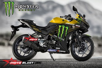 Yamaha-YZF-R25-MONSTER ENERGY MOTOGP 2019-yellow