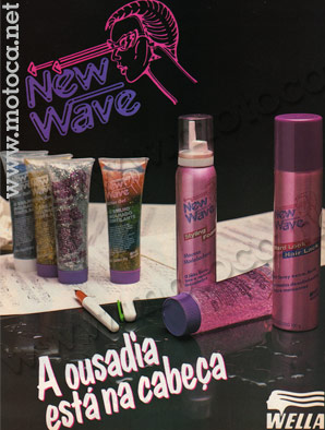 anuncio gel new wave