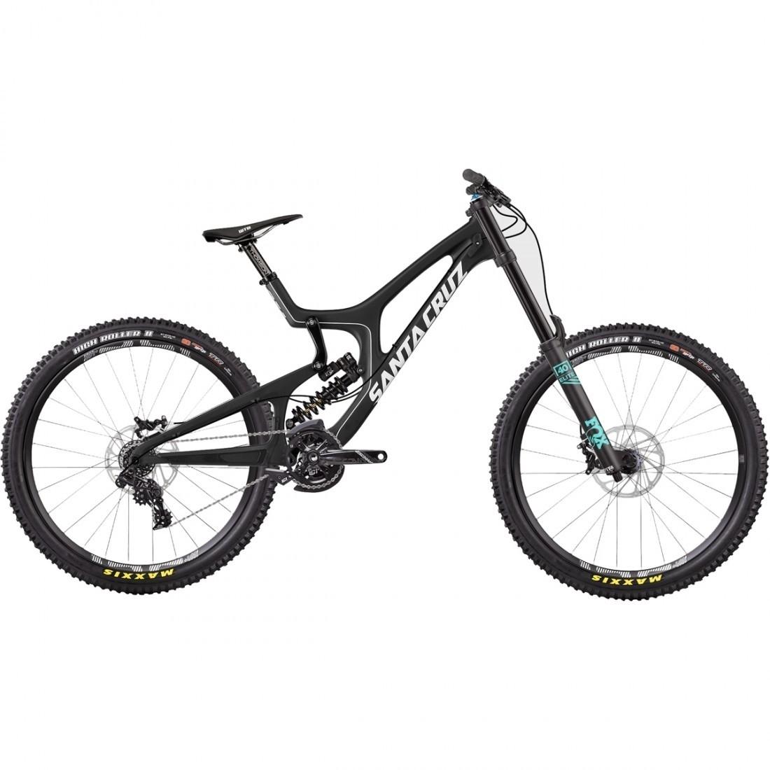 Velo Tout Terrain Santa Cruz V10 C Kit S Black Motocard