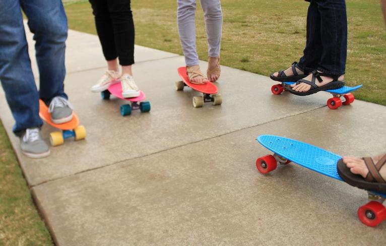 skateboarding bun pentru pierderea în greutate)