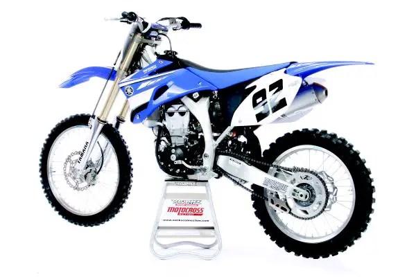 2008 test ride yamaha yz450f