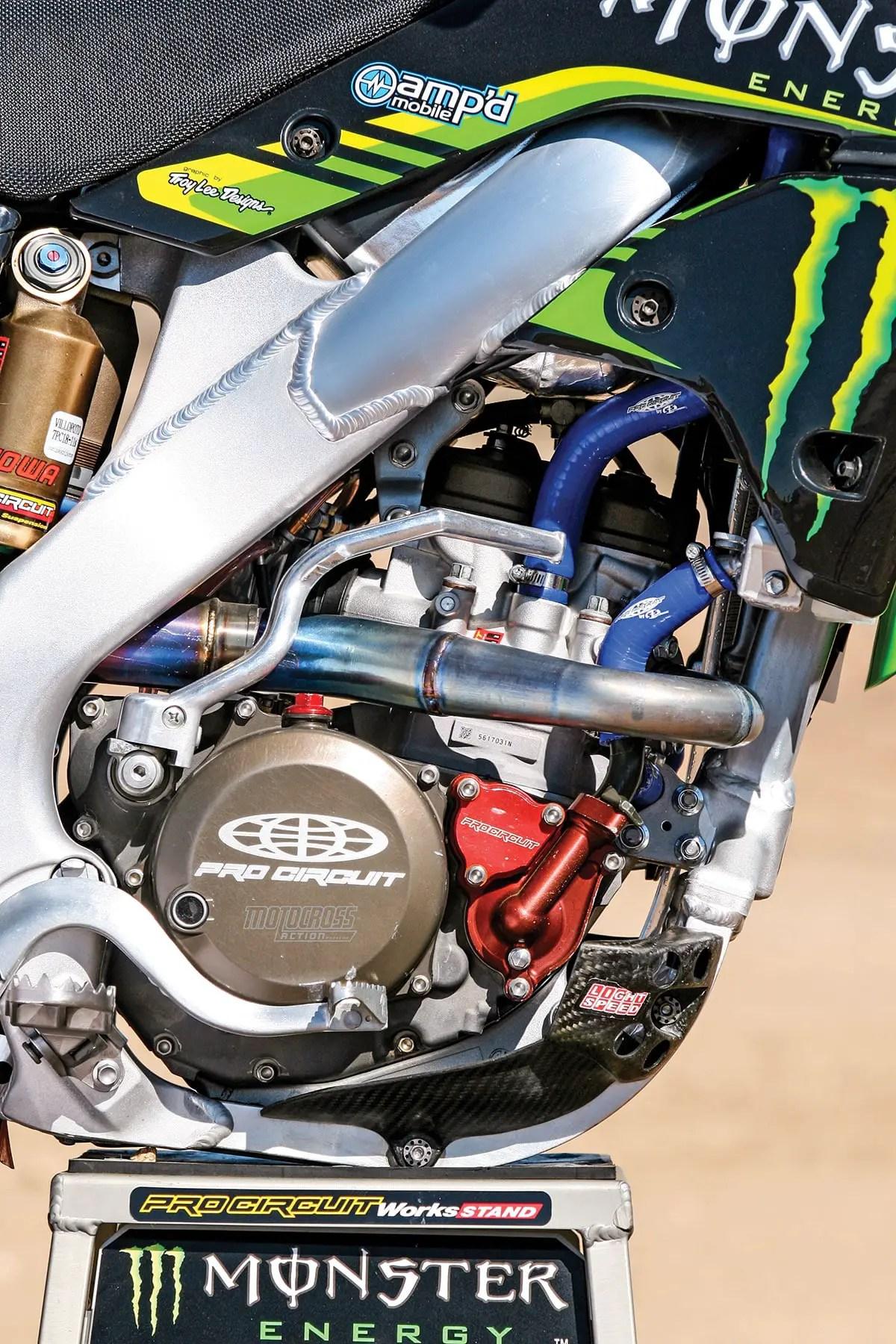 title winning 2007 pro circuit kx250f