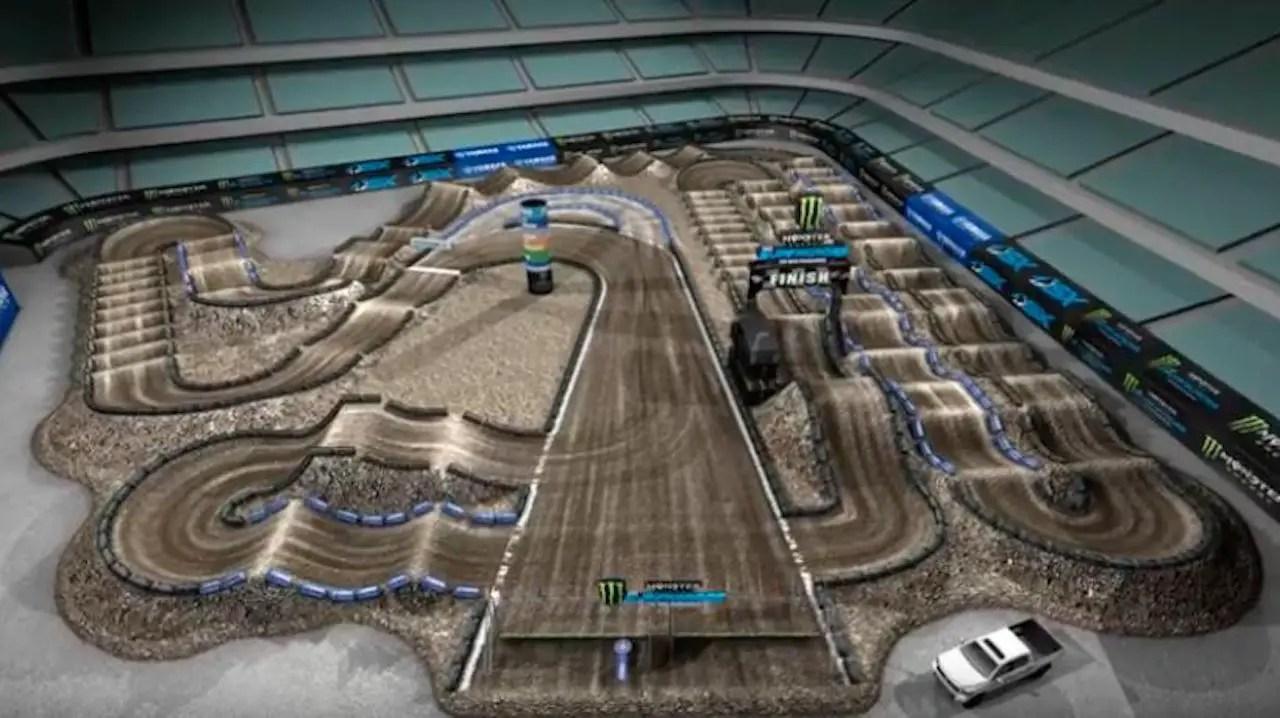 Map Track 2005 Supercross