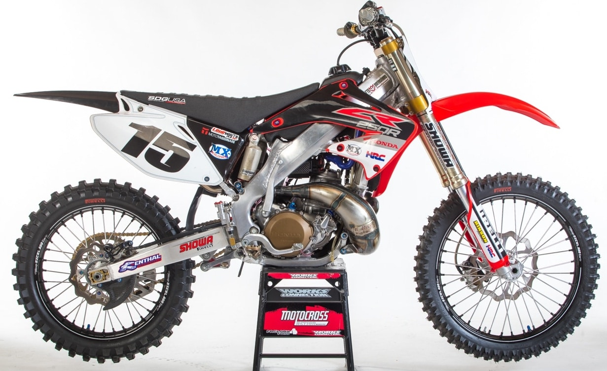 the quest to build a 2002 works cr250