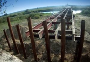 Most na Narwi w Bronowie