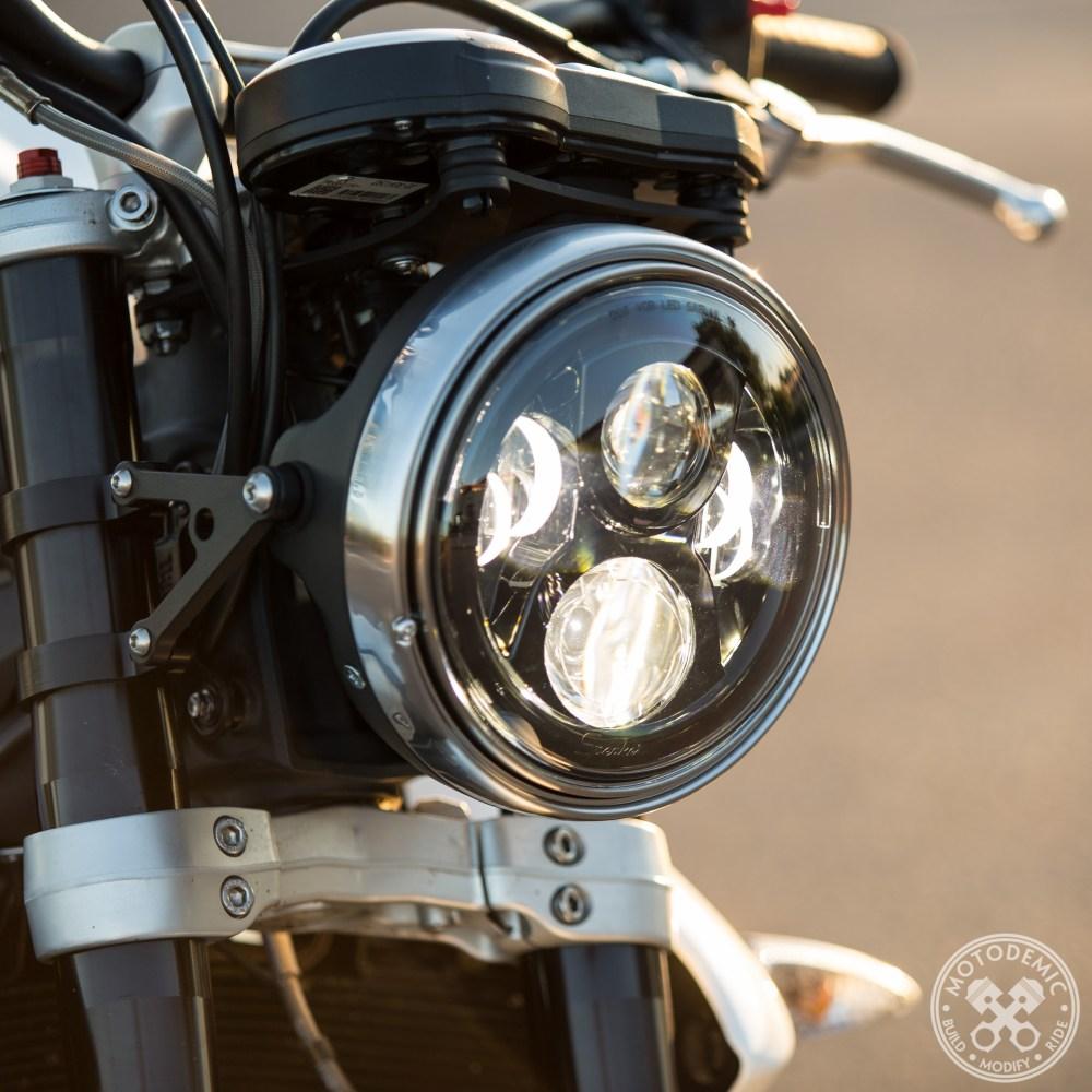 7 Inch LED Headlight Evo 2 High Beam