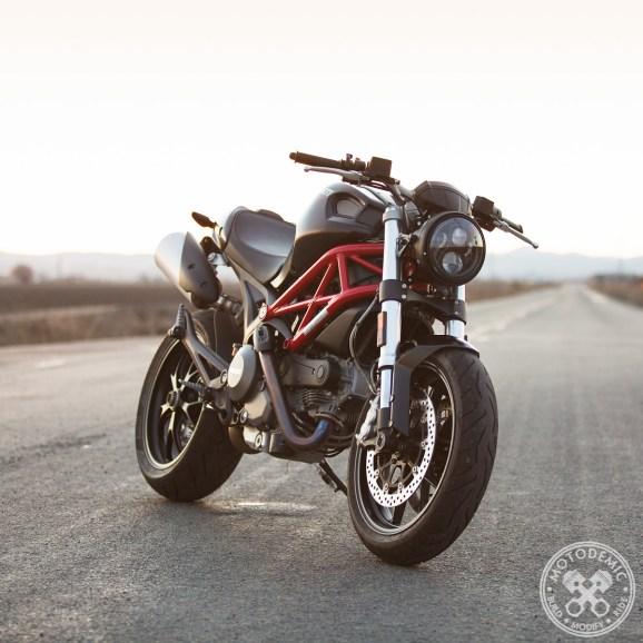Ducati Monster Headlight Conversion