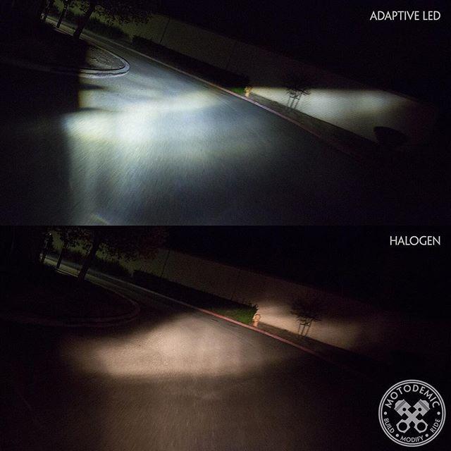 Ducati Factory Adaptive Lighting