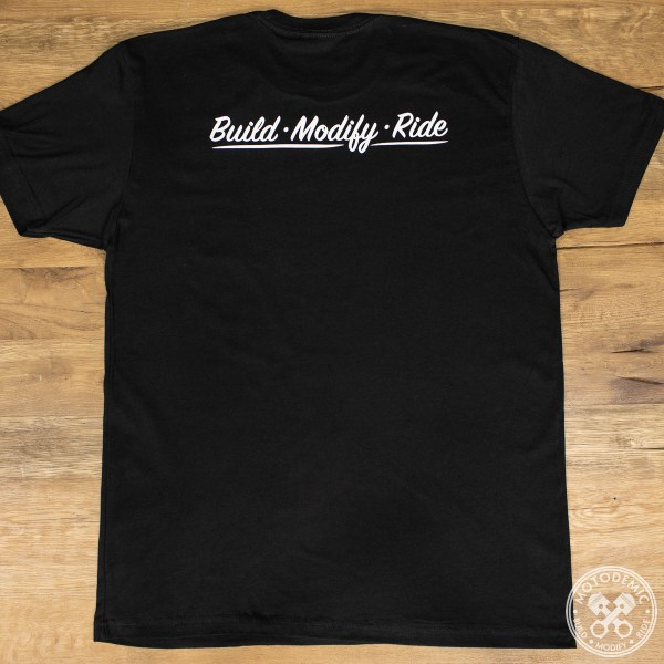 Build Modify Ride Tee - Back