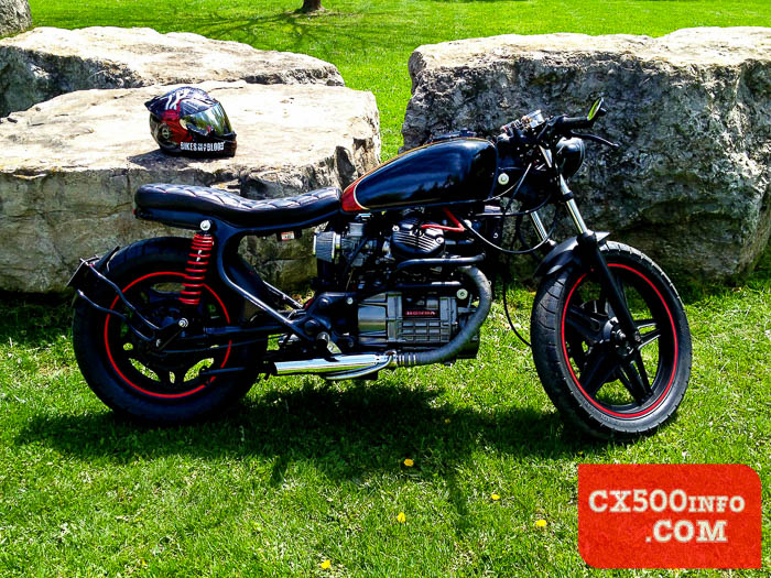 Featured Build Honda Cx500 Canadian Cafe Racer By Motomicah