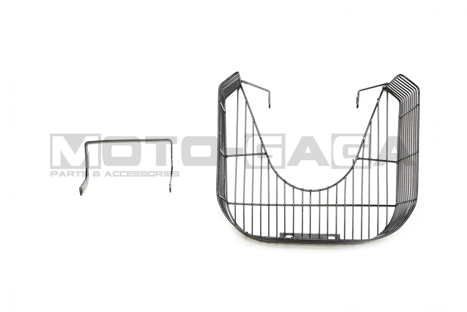 Yamaha Z125 Metal Leg Shield Luggage Basket
