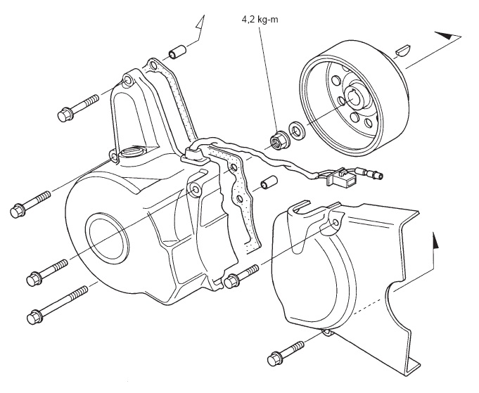 [DIY] Membongkar Gearbox Honda Grand Bagian Kiri (Magnet