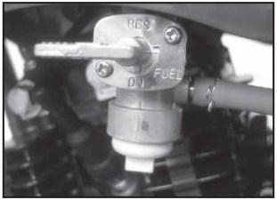 saluran bensin off