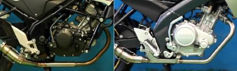 CB150R-NVL racing muffler