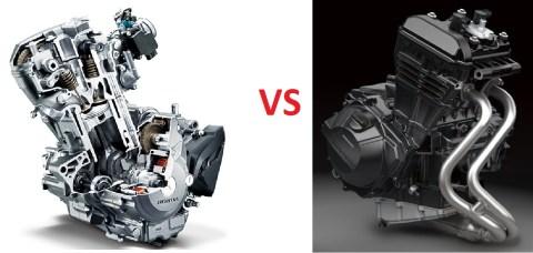 mesin 1 vs 2 silinder