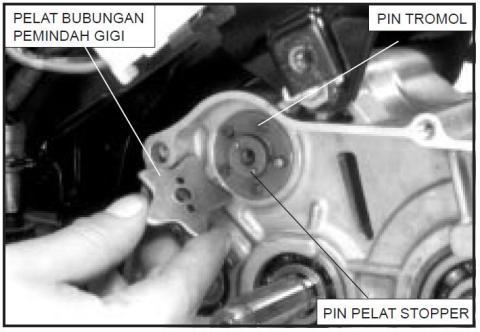 3 lepas pin stopper
