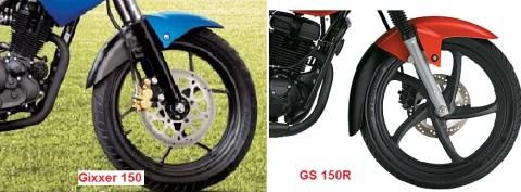 gsx vs gs 150