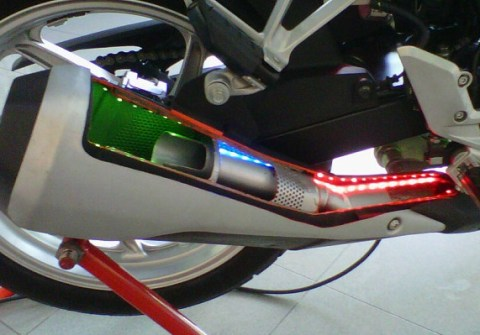 knalpot cbr250 sound refflection