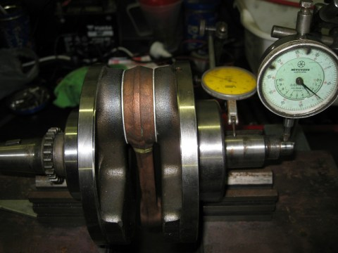 dial crankshaft