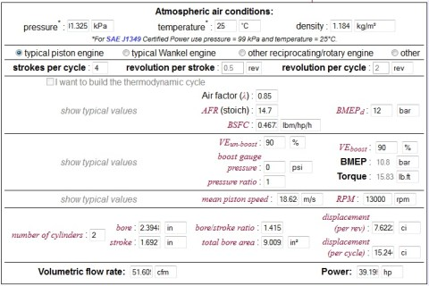 performa yzf r250 13000 rpm ve90 afr85 v2
