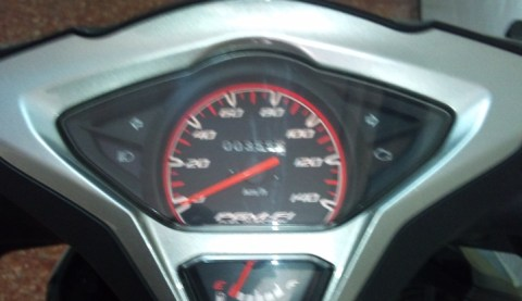 speedometer mesin on
