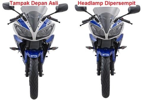 Motor-Yamaha-R15-Tampilan-Depan modif