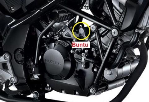 engine mounting cb150r