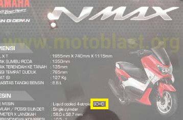 nmax150 SOHC