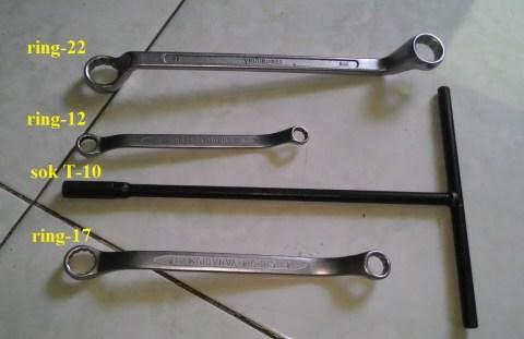 rantai cbr150 over kendur tools