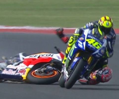 marquez crash-rossi win _argentina