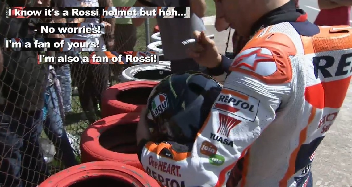 mm fans rossi