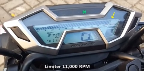 limiter all new cb150r 11000 rpm