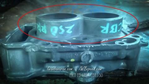 CBR250RR-2 silinder