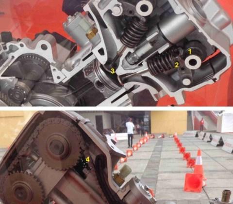 sumber bunyi engine k56