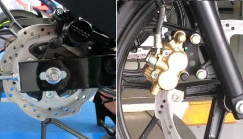 hydrolic diskbrake system