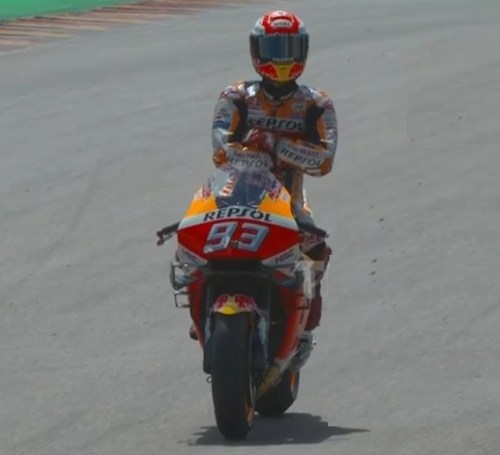 marquez the king of sachsenring